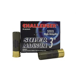 "CHALLENGER STEEL 12 3"""" 1¼OZ #2 BOX / 20"
